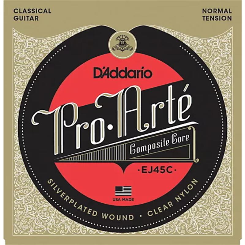 D'addario D'Addario Ej45C Classical Composite Normal