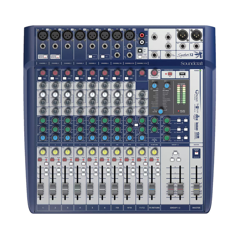 Soundcraft Soundcraft Signature 12-Input Mixer With Effects