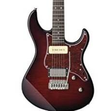Yamaha Yamaha PAC611VFM DRB  Pacifica Electric Guitar Dark Red Burst