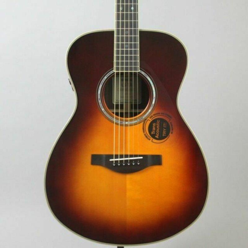 Yamaha Yamaha LSTA  BS TransAcoustic Guitar Brown Sunburst