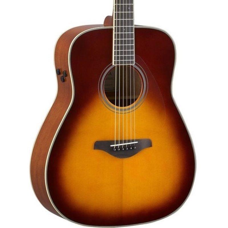 Yamaha Yamaha FGTA BS TransAcoustic  Guitar Brown Sunburst