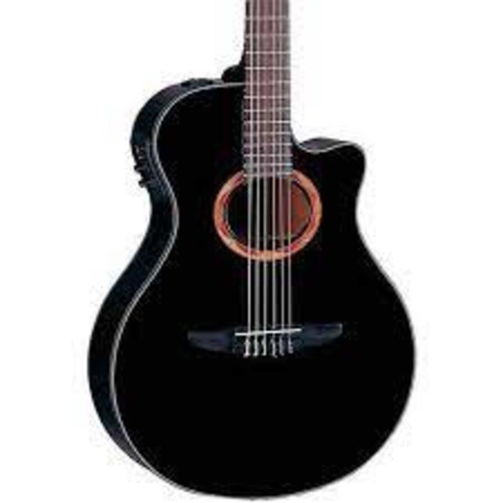 Yamaha Yamaha NTX1 Black Nylon Acoustic Guitar w/Electronics