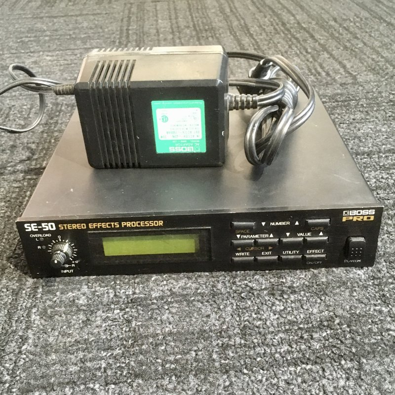 Consignment / Used Boss Pro SE-50 Stereo Effects Processor