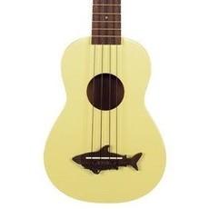Kala Makala Soprano Shark Ukulele Yellow MK-SS-YLW