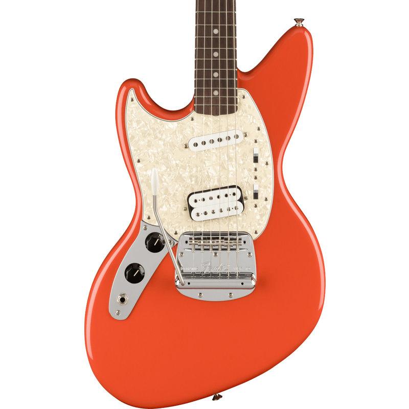 Fender Fender Kurt Cobain Jag-Stang Left-Hand - Fiesta Red