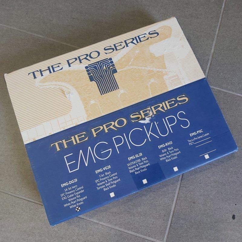 Consignment/Used EMG David Gilmour Pickups DG20 Set