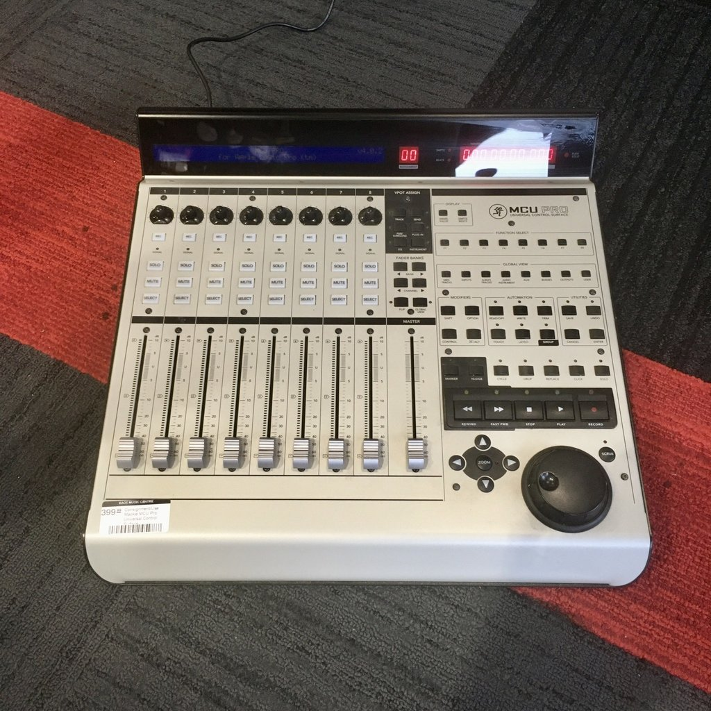 Consignment/Used Mackie MCU Pro Universal Control Surface