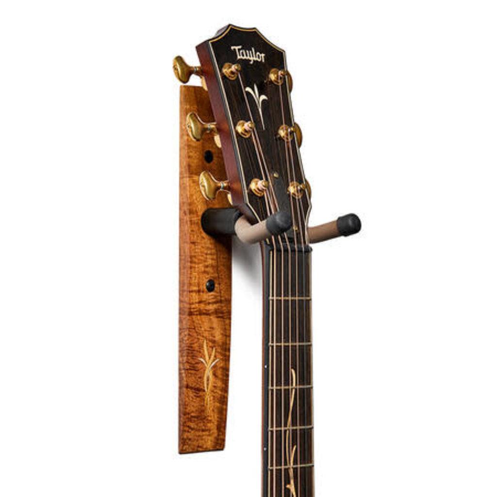 Taylor Guitars Taylor Koa Guitar Hanger with Bouquet Inlay