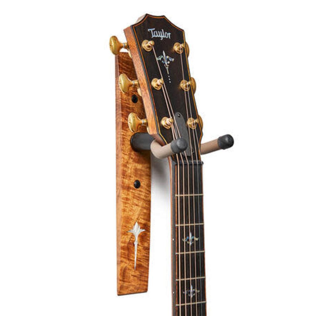 Taylor Guitars Taylor Koa Guitar Hanger with Noveau Inlay