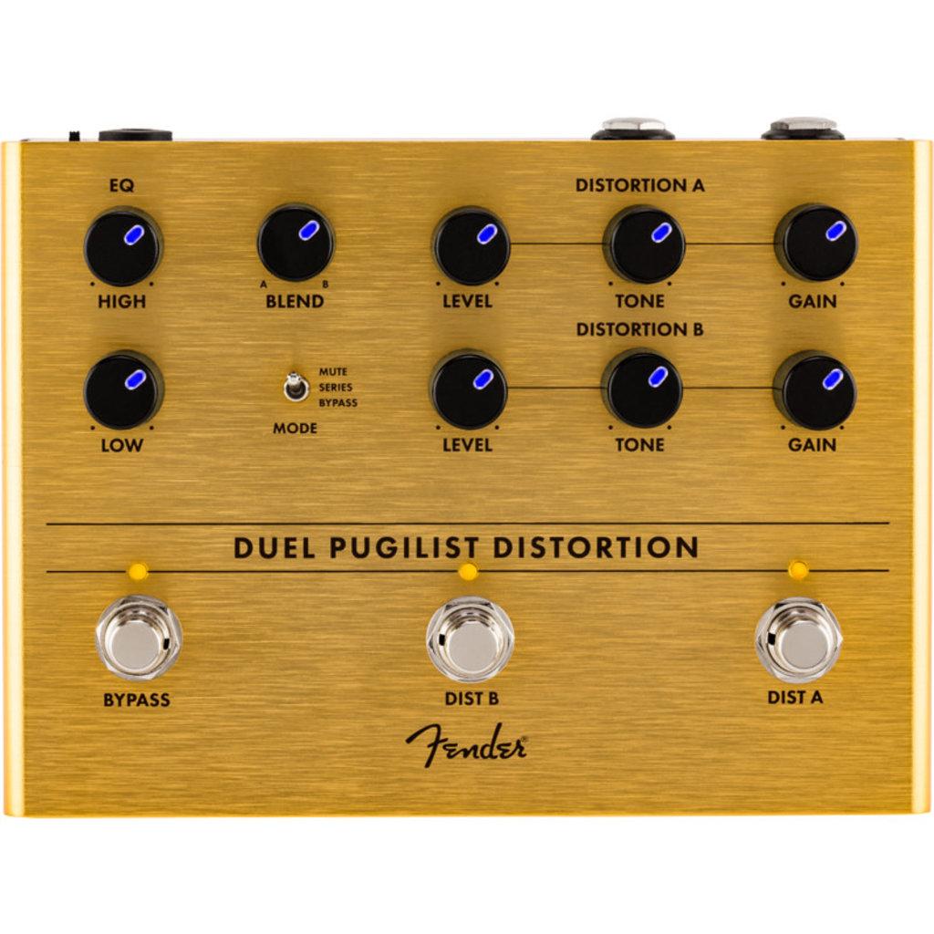 Fender Fender Duel Pugilist Distortion Pedal