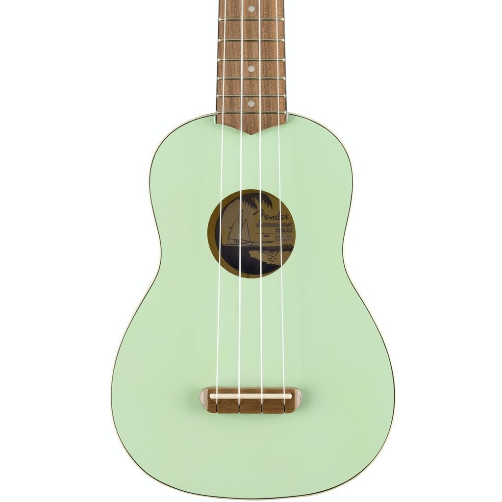 Fender Fender Venice Soprano Ukulele Surf Green