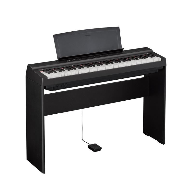 Yamaha Yamaha P121 Digital Piano Black Set w/ Stand