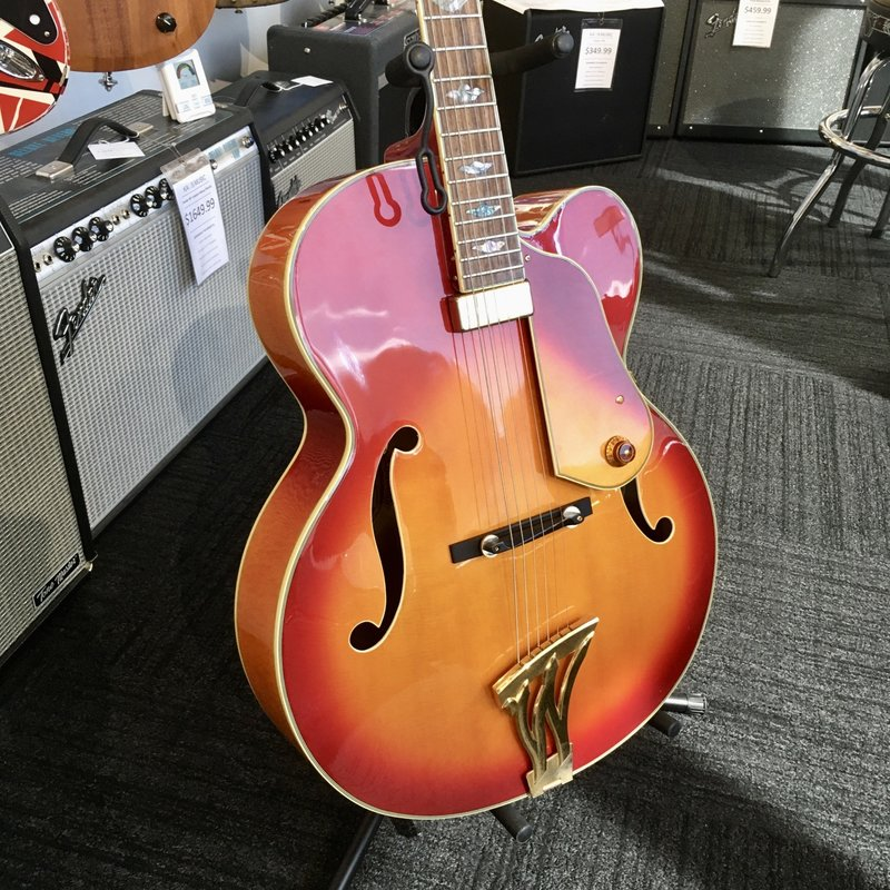 Consignment/Used Washburn J-10 Orleans Archtop Guitar 1998