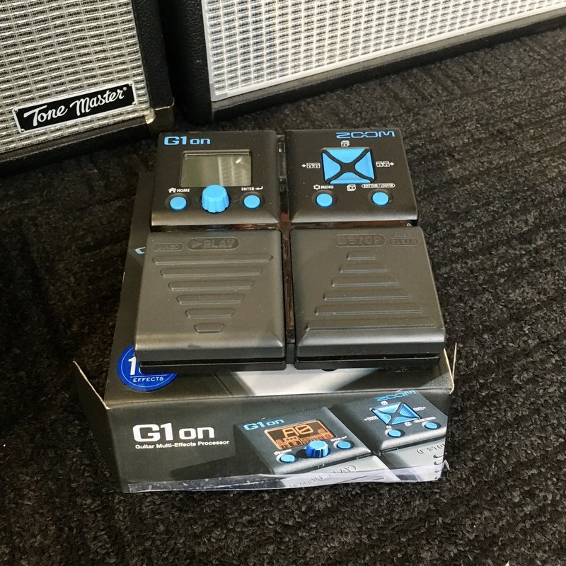Consignment/Used Zoom G1on Guitar Multi-Effects Processor