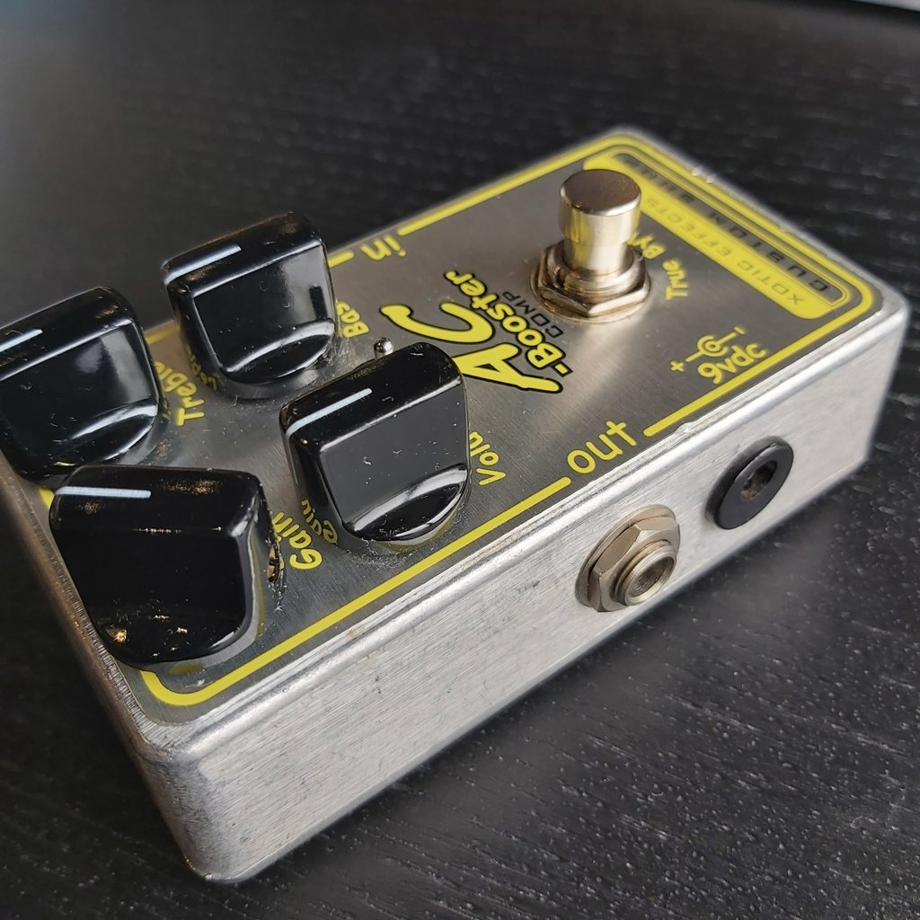 Xotic Effects Consignment Xotic AC Booster Custom Shop Overdrive Pedal
