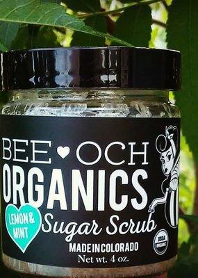 Bee-OCH Organics Cane Sugar Scrub (4oz)