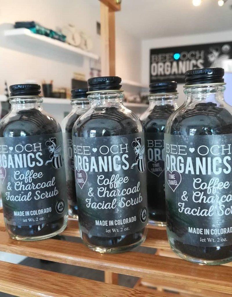 Bee-OCH Organics Coffee And Charcoal Facial Scrub