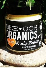 Bee-OCH Organics Citrus Body Butter