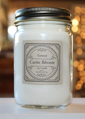 Candles by Naturali Cactus Blossom Soy Candle