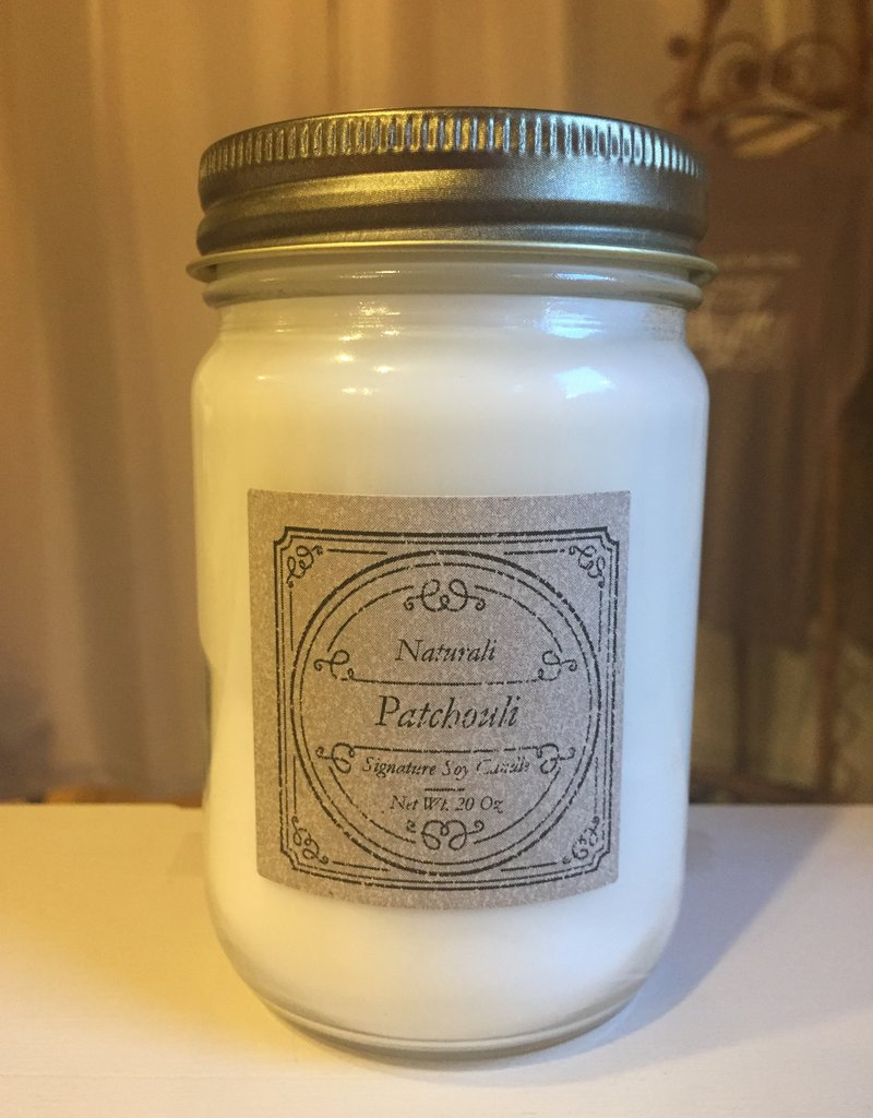 Candles by Naturali Patchouli Soy Candle