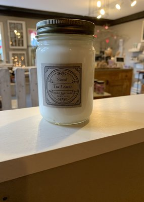 Candles by Naturali Tea Leaves Soy Candle