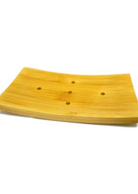 Naturali Bath Essentials Bamboo Soap Dish