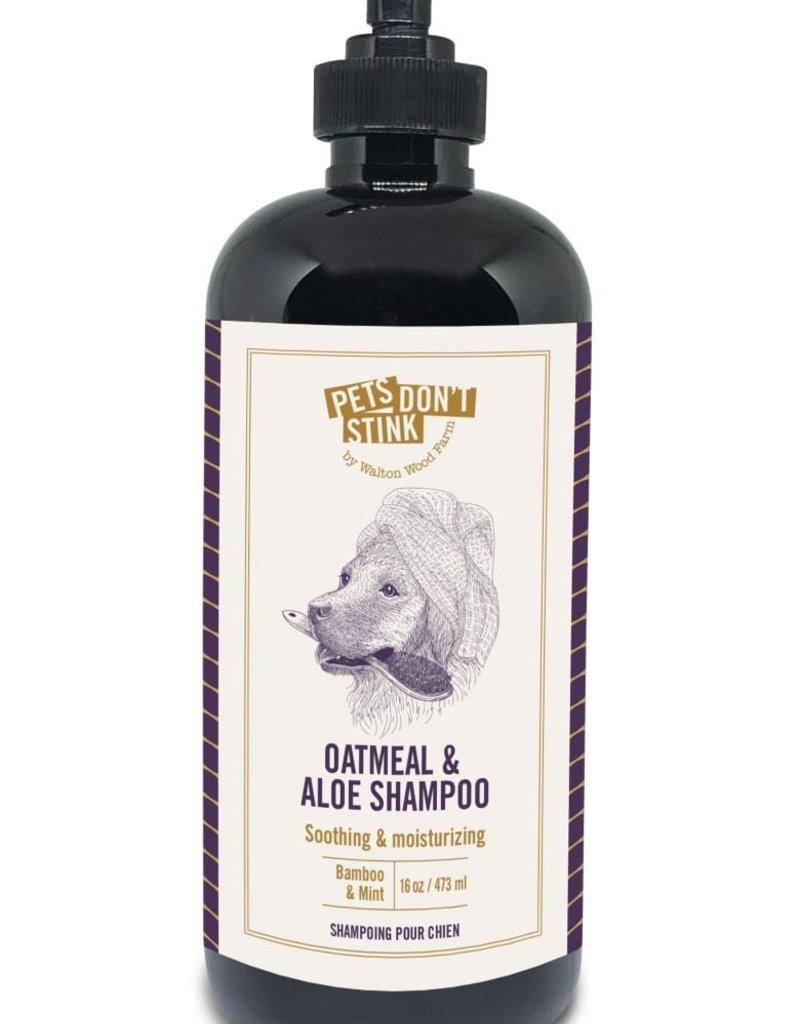 Pets Don't Stink Oatmeal and Aloe Shampoo