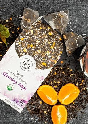 The Tea Spot Morning Mojo Blend