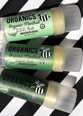 Bee-OCH Organics 200 MG CBD Muscle Rub