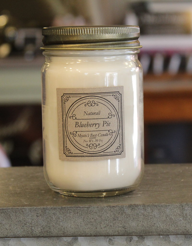 Candles by Naturali Blueberry Pie Soy Candle
