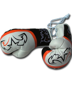 Rival Rival Car Mirror Mini Boxing Gloves