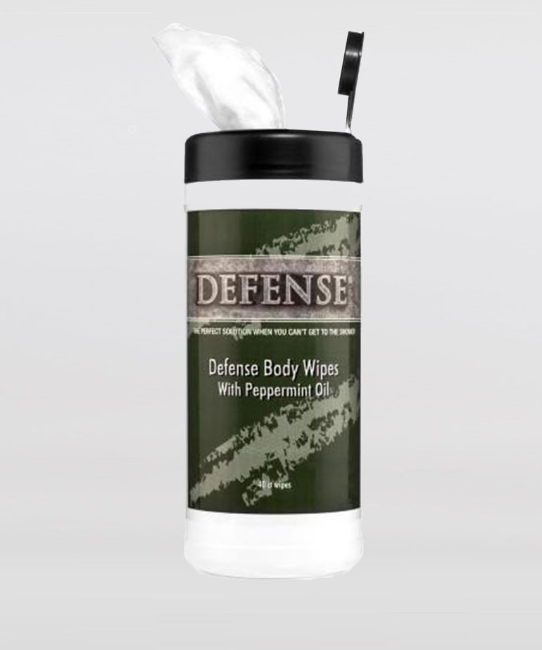 Defense Defense Soap Body Wipes