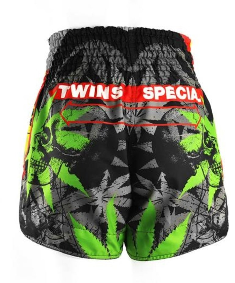 Twins Twins TBS-Grass Thai Shorts