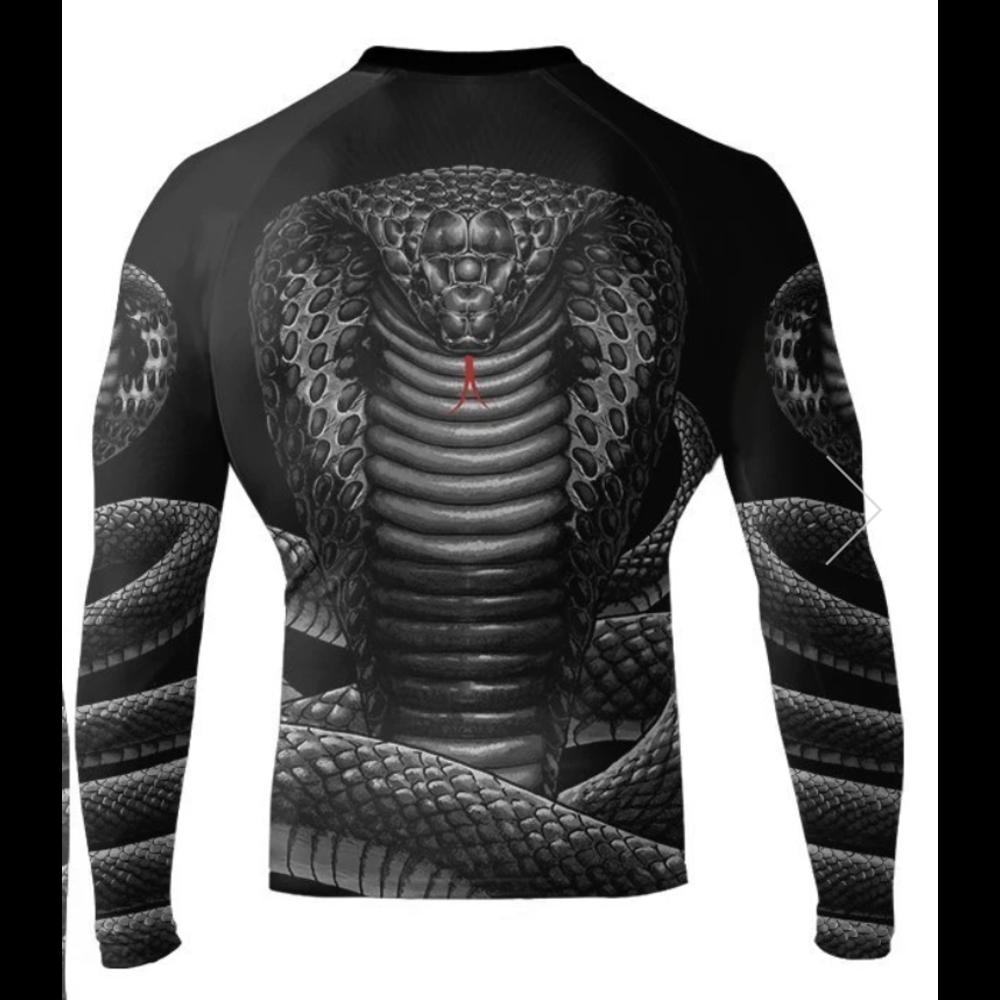 Raven King Cobra Longsleeve Rashguard