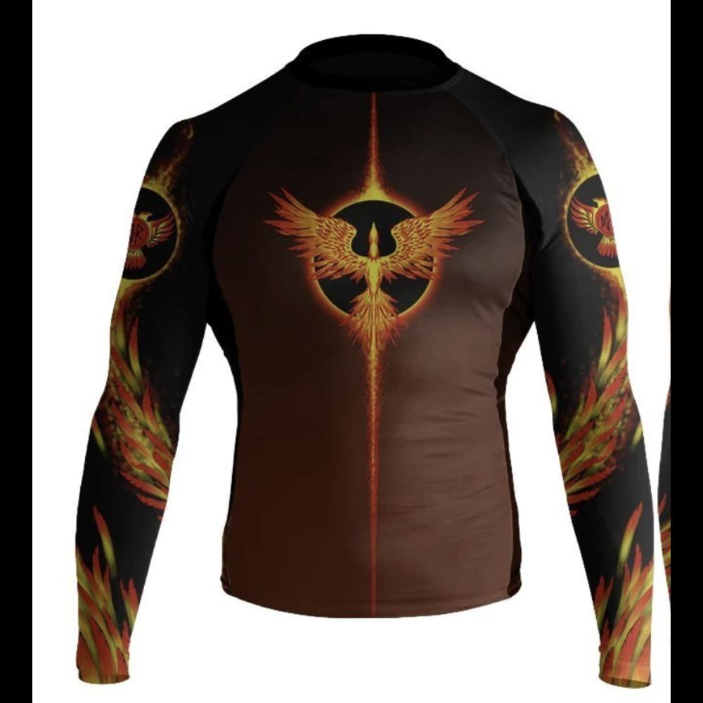 Raven Phoenix Youth Longsleeve Rashguard