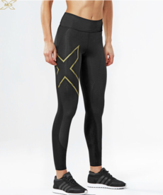 2XU 2XU Womens Bonded Mid-Rise Compression Tights