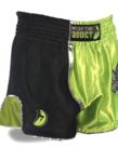 Muay Thai Addict Muay Thai Addict Galaxy Green Retro Shorts