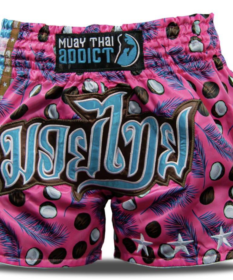 Muay Thai Addict Muay Thai Addict Pink Coconuts