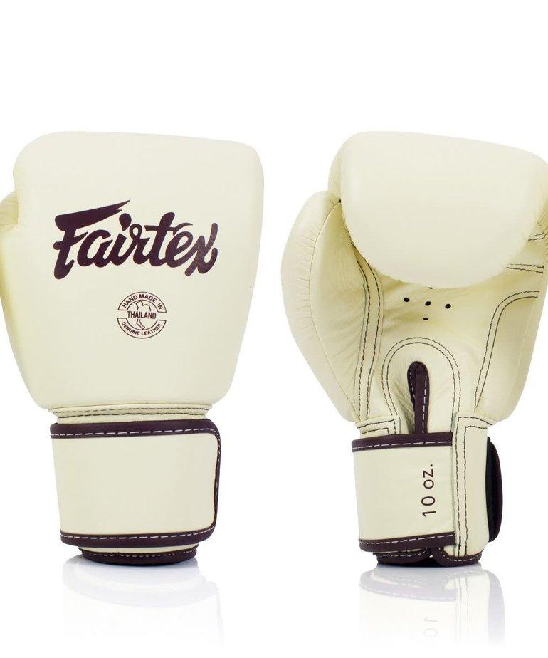 Fairtex Fairtex BGV16 Real Leather Boxing Glove - Khaki