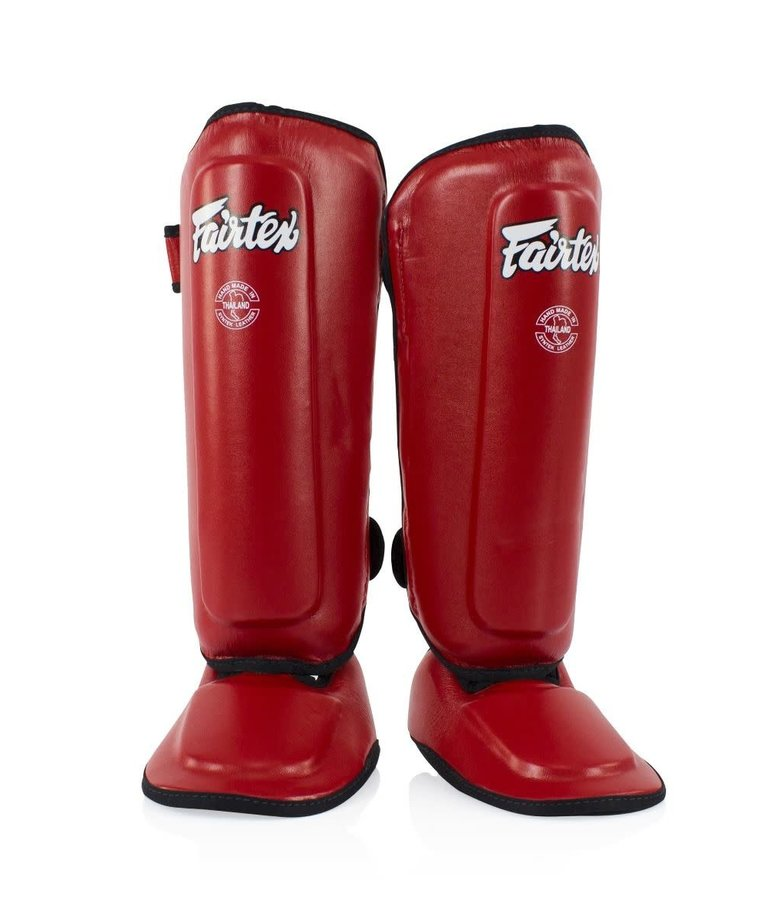 Fairtex Fairtex SPK9 Kids Shinguards - Red