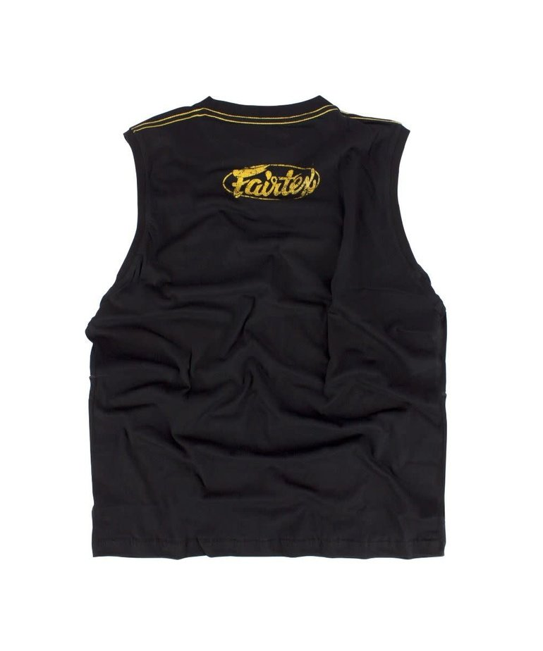 Fairtex Fairtex MTT27 Tank Top - Gold