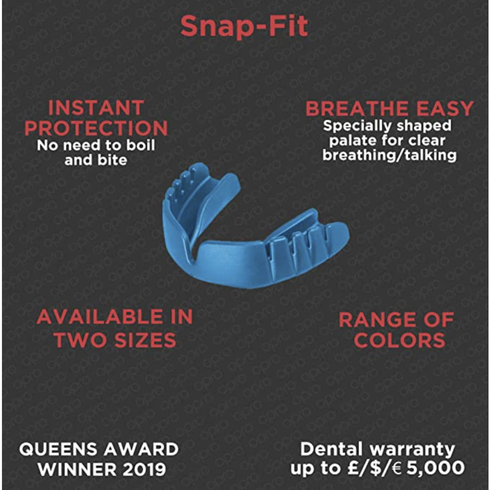 Opro Snap-Fit Mouthguard - Mint Flavoured