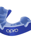 Opro Opro Self-Fit Silver Mouthguard - Blue/Light Blue