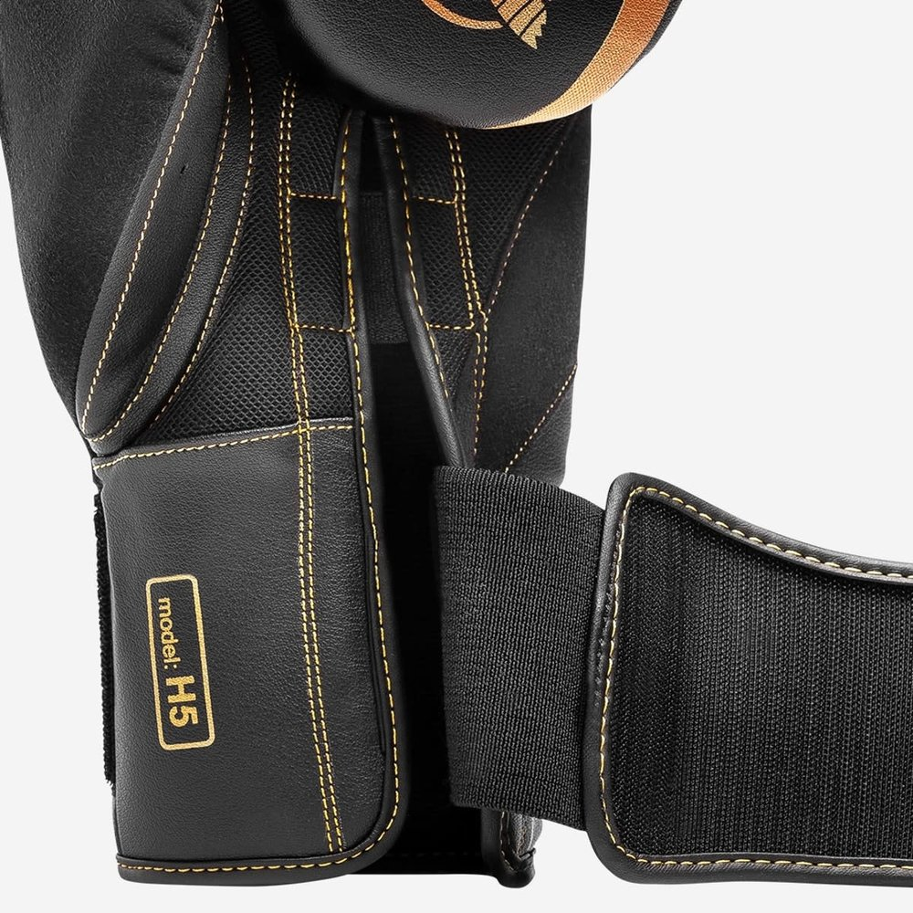 Hayabusa H5 Boxing Gloves - Black/Gold
