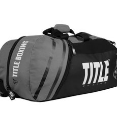 Title Title Sport Bag/Back Pack 2.0 - Black/Grey