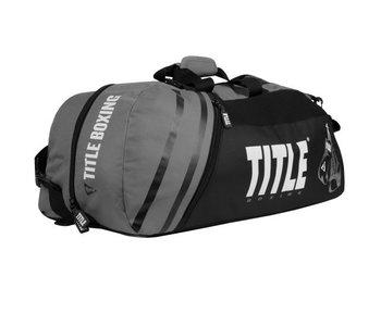 Title Sport Bag/Back Pack 2.0 - Black/Grey
