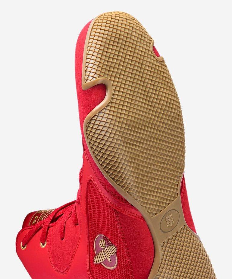 Hayabusa Hayabusa Pro Boxing Boots - Red
