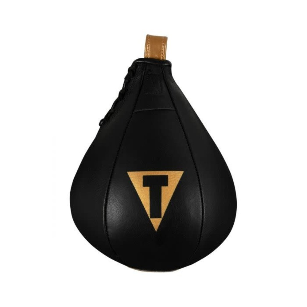 Title Hightail Leather Speedbag - Black/Gold