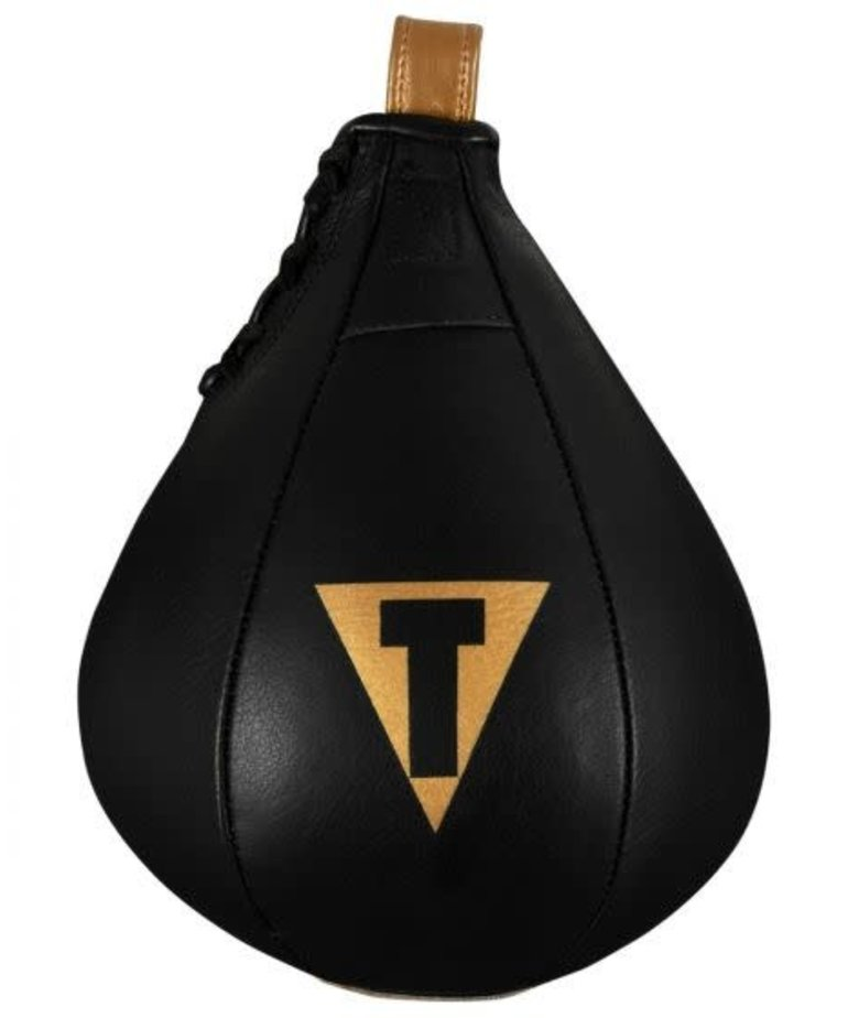 Title Title Hightail Leather Speedbag - Black/Gold