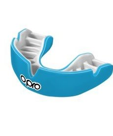 Opro Opro Power-Fit Mouthguard - Sky Blue/Pearl
